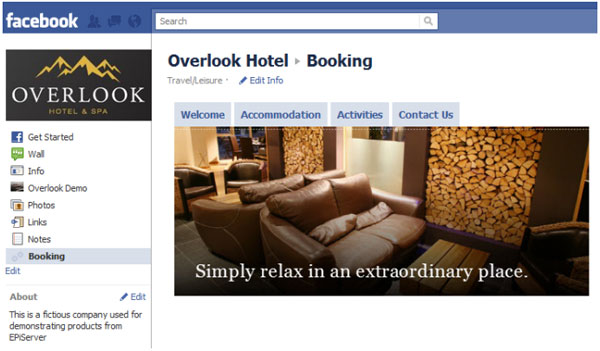 Getting Personal - Visitor Groups Meet Facebook