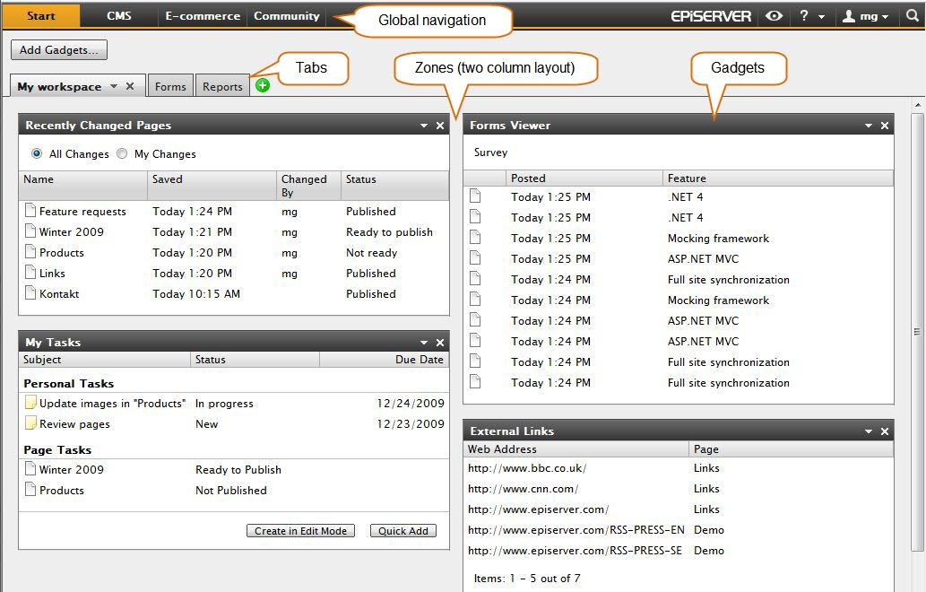 EPiServer CMS 6 RC1 is available for download