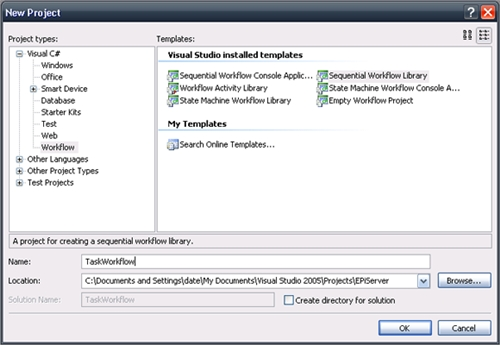 how to create a cms in visual studio