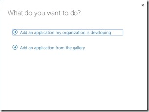Add application 1