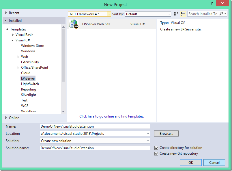 New version of Visual Studio extension available | Episerver