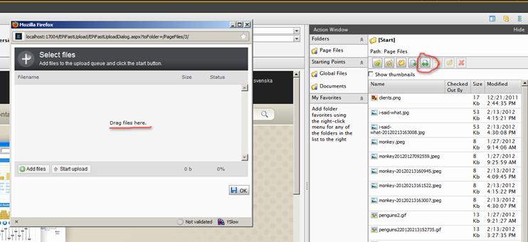 EPiFastUpload 1 0 released  Cross browser multiple file